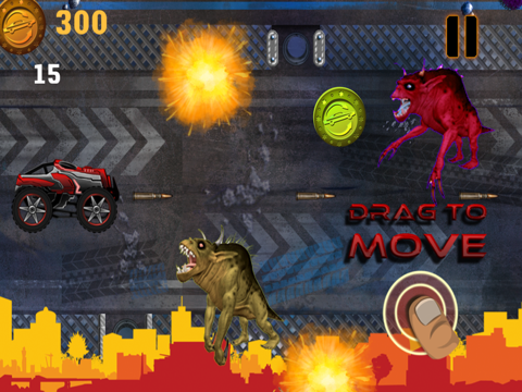 Abaiser Monster Trucks Vs Zombies: Words War Racing Game-ipad-0