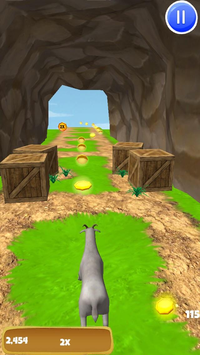 3Dヤギの脱出 - クレイジー暴れF2Pゲーム版 - 無料のスクリーンショット5