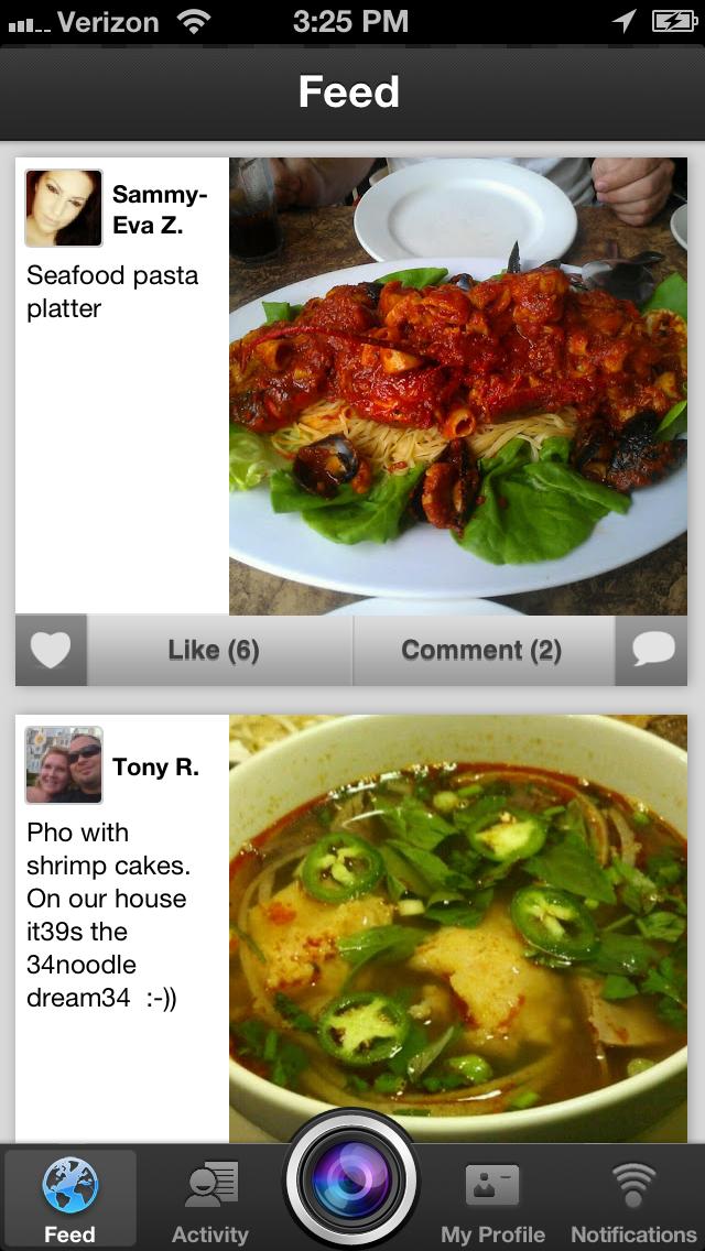 Yummy Food : Food Photos & Recipes Sharing NetworkScreenshot of 1