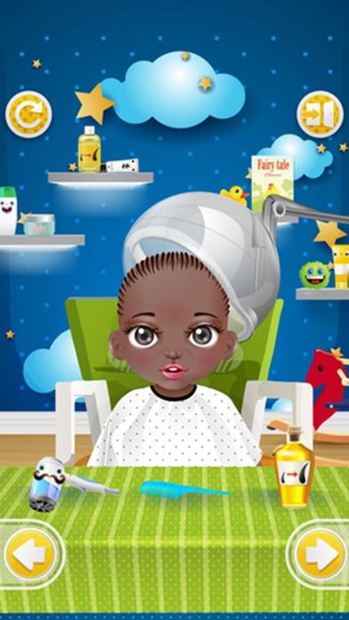 赤ちゃんの洗浄、ヘアサロン - 子供向けゲームのおすすめ画像2