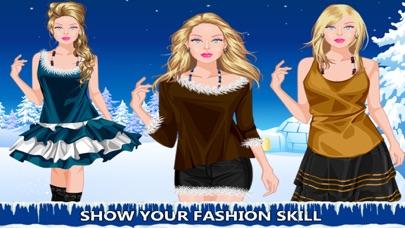 Winter Girl Dress Up Game screenshot four