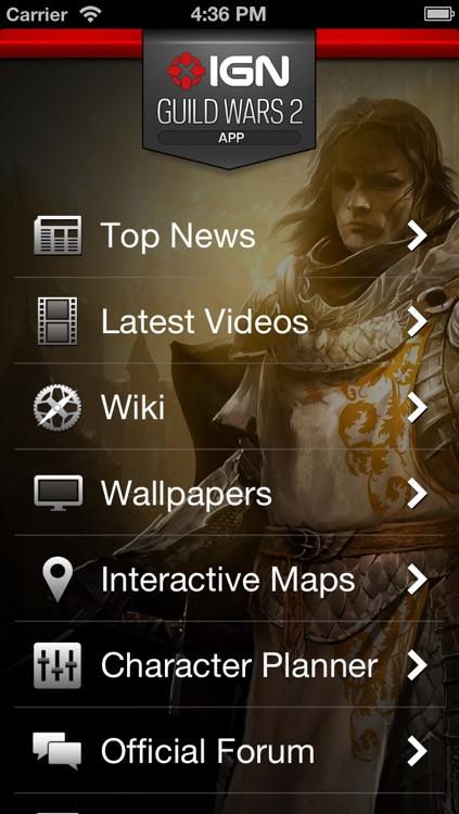 IGN App For GW2