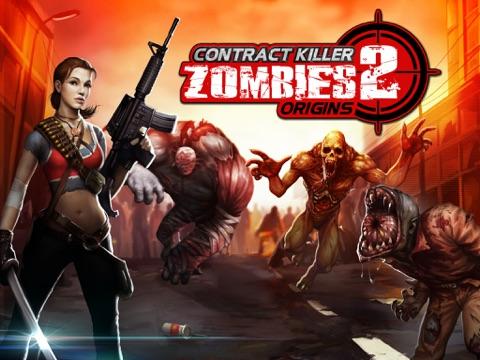 Contract Killer Zombies 2-ipad-0