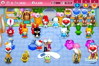 Hello Kitty Beauty Salon Seasons screenshot two