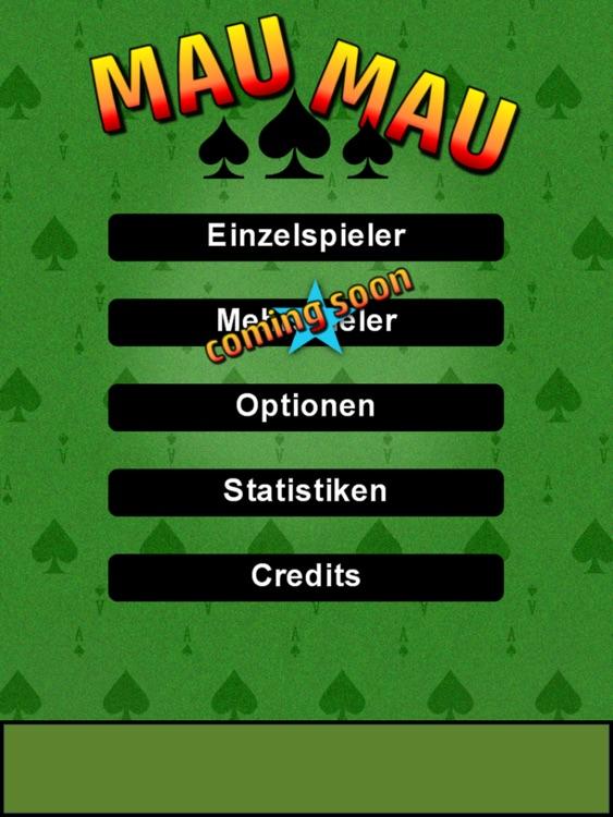 Mau Mau - card game (iPad) screenshot-3