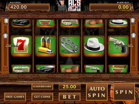 Al's Casino Slots Mafia - Free Game-ipad-3