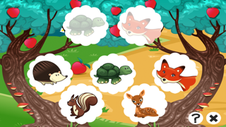 A Free Train Your Brain Educational Interactive Learning Game For Kids – Remember Me, Fox and Bambi screenshot four