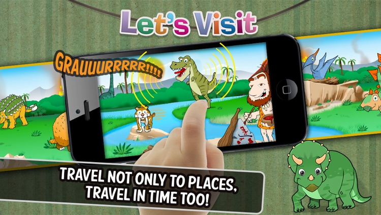 Let's Visit - Farm, Circus, Superheroes, Prehistory, Spooky Town, Ocean and more...