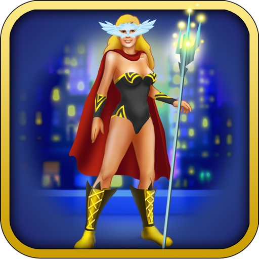 Superheroes Girl ! - Girls Power Fashion and Style the Dream Costumes Game Icon