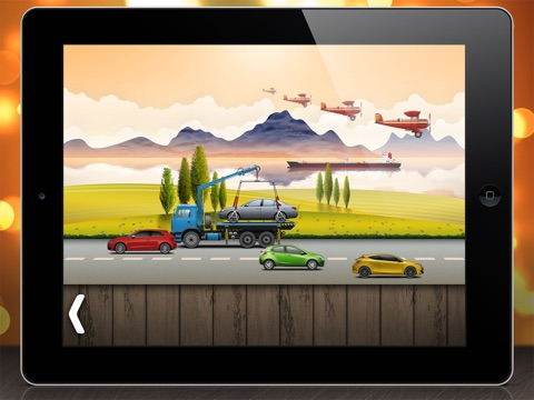 Скачать игру На дороге - головоломки для малышей и детей