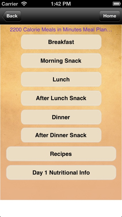 Meal Plans - Meals in Minutes 7 Day Meal Plans