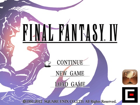 Screenshot #1 for FINAL FANTASY IV