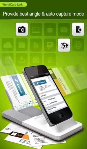 Worldcard link instant business card reader on the app store iphone screenshots colourmoves Choice Image