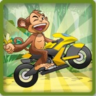 Monkey Bike Race Ball icon