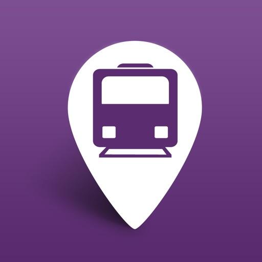 OnTimely-Helsinki, reittiopas, aikataulu ja pysäkit, HSL, kartta reitti, reitin päästöt, reittihaku, journey planner