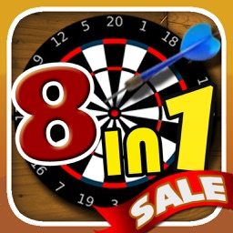 Dartmaster 8in1 - Best Free Darts and Sport Game Mania
