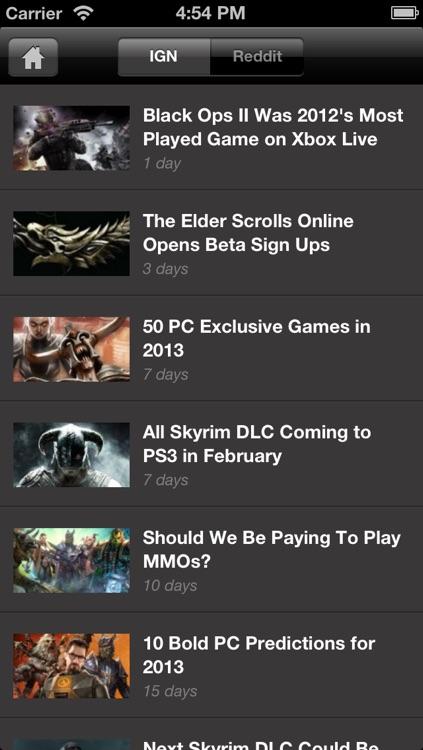 IGN App For Elder Scrolls V: Skyrim screenshot-3