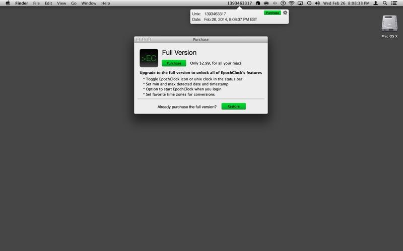 Epochclock review screenshots