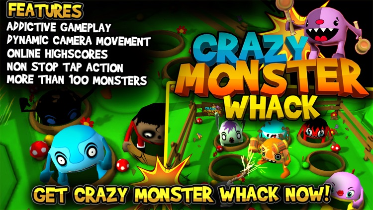 Crazy Monster Whack screenshot-4