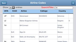 Airport Codes Databaseのおすすめ画像2