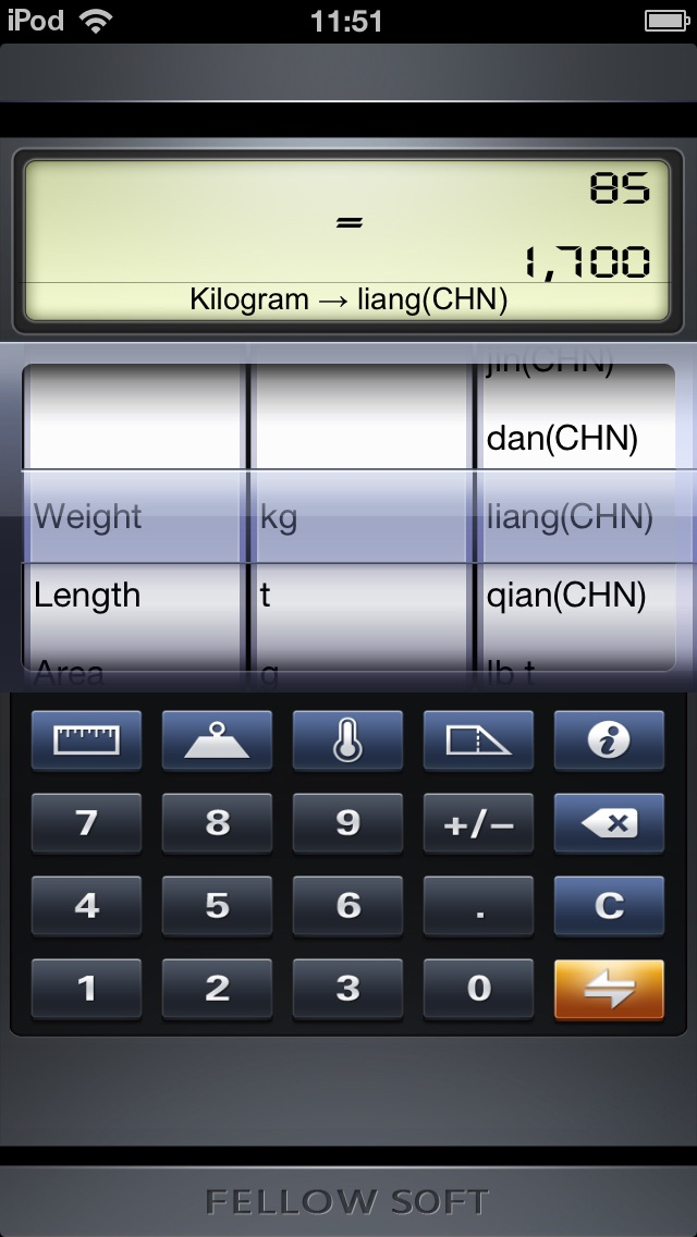 download iToolkit free-flashlight,dual level,battery master,calculator,unit converter apps 4