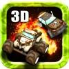 ロードウォリアー - 最高のスーパー楽しい3D破壊カーレースゲーム (Road Warrior - Best Super Fun 3D Destruction Car Racing Game)