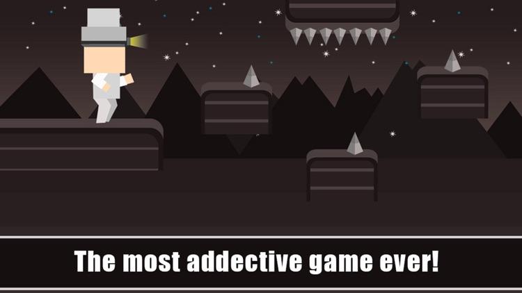 Happy Mr Jump Night Mode - Endless Arcade Running Game