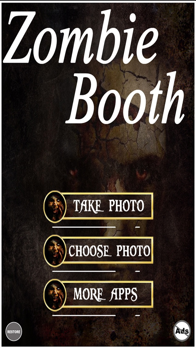 Zombie Booth - Transform Into A Zombie screenshot one
