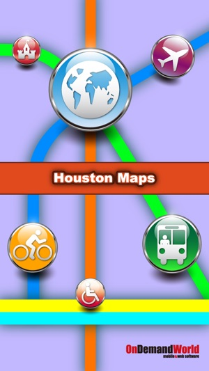 Houston Maps Download Metro Maps And Tourist Guides On The App Store