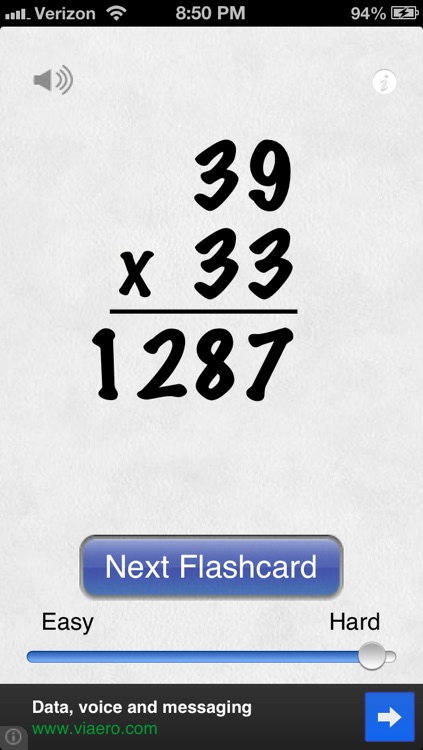 Awesome Flashcard Multiplication FREE screenshot-4
