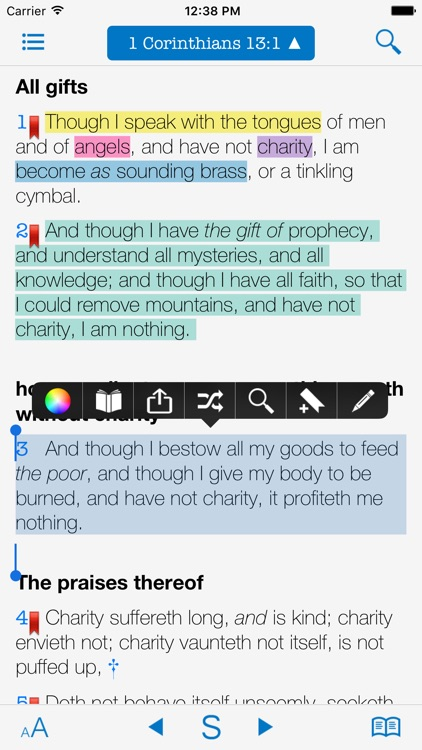 KJV Matthew Henry & Strong's screenshot-2