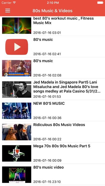80s Music Free - Songs, Radio & Greatest Hits screenshot-3