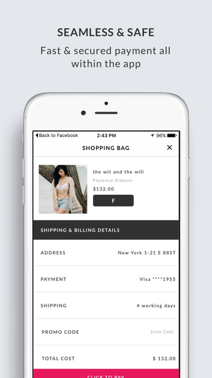 FASHORY - Amazing brands & personalised shopping in one app. screenshot-4