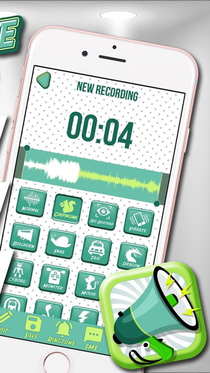 Crazy Voice Changer & Recorder – Prank Sound Modifier with Cool Audio Effects Free