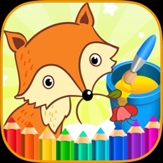 Activities of Coloring Book Animals Ice