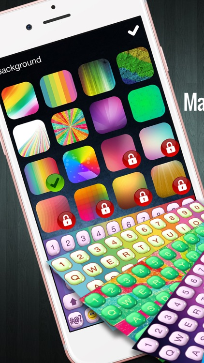 Rainbow Keyboard Changer – Cool Emoji Keyboard.s with Beautiful Color.ful Themes and Fonts