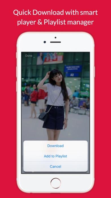 Video Grabby Free - Video Save & Video Editor Screenshot on iOS