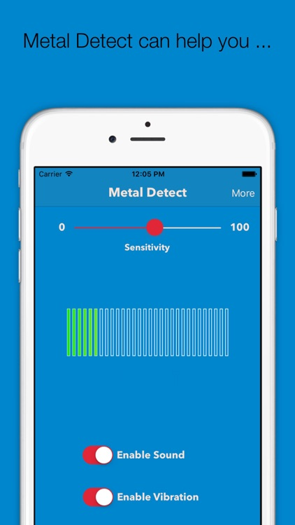Metal Detect - The Free Metal Detector and Stud Finding App