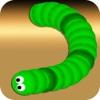 运行的蛇战争 - 吃颜色游戏