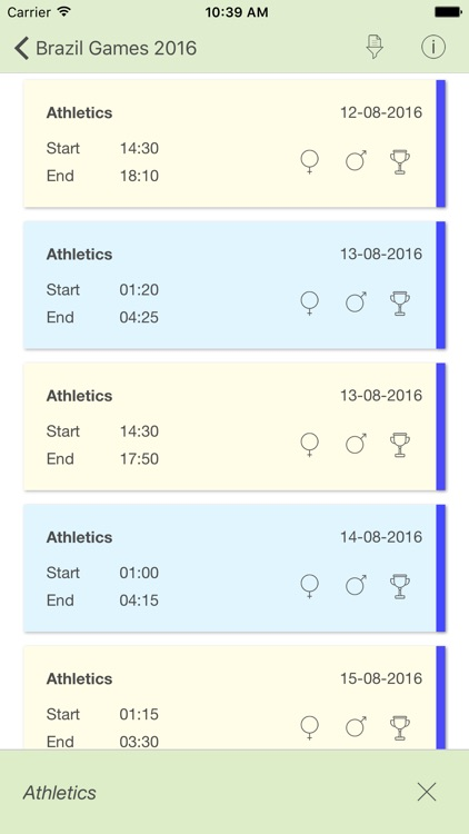 Brazil Games 2016 Dates and Schedule of Rio de Janeiro Summer Sport Events screenshot-3