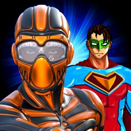 Create Your Own Super-Hero - Free Dress-Up Comics Costume For Super X Knight Character