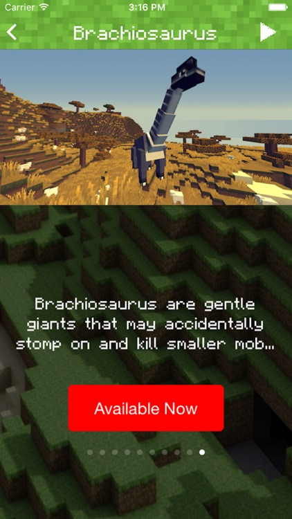DINOSAUR MOD FOR MINECRAFT PC EDITION - MODS POCKET GUIDE