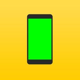 Green Screen - Turns display in green