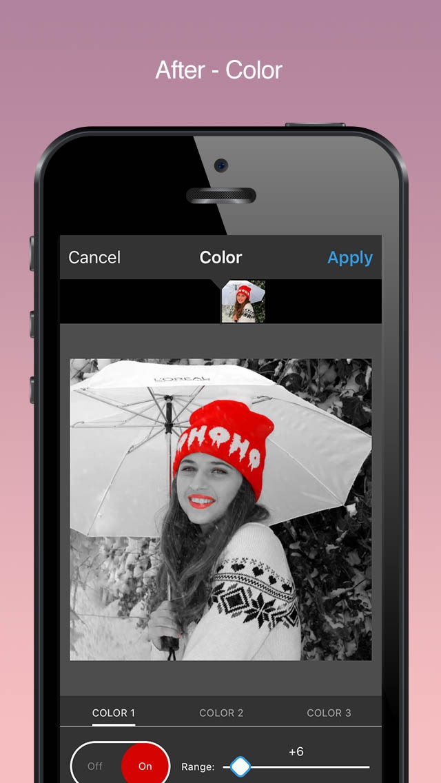 Screenshot #7 for Video Color Editor - Change Video Color, Add Video Filters and Vintage Effects