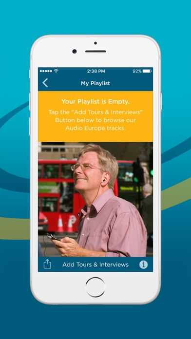 Rick Steves Audio Europe review screenshots