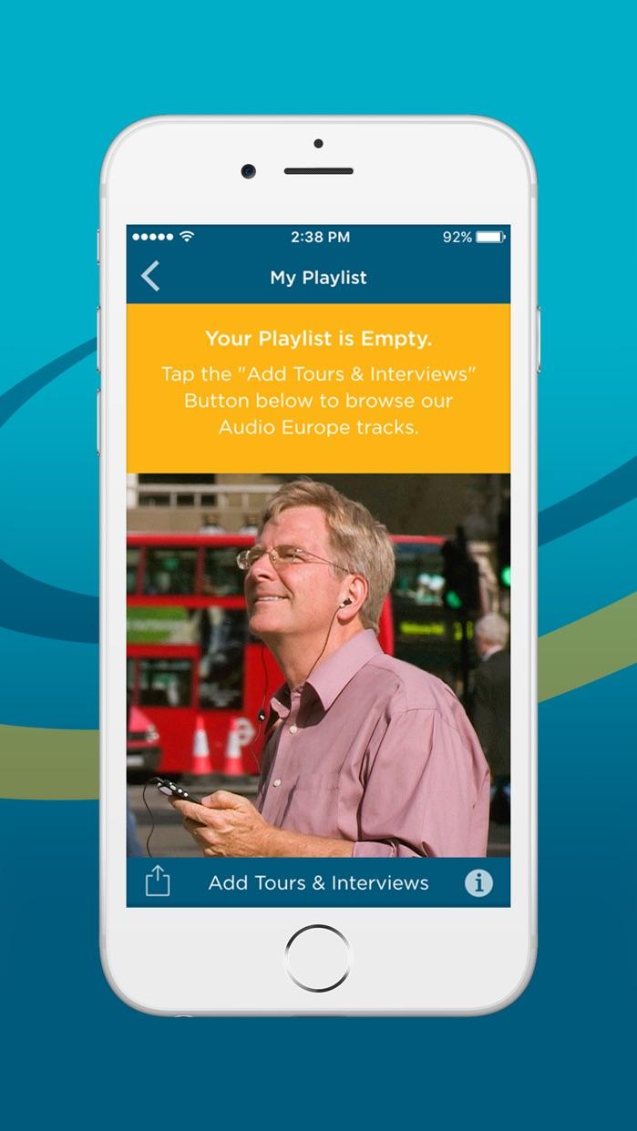 Rick Steves' Audio Europe™ Screenshot