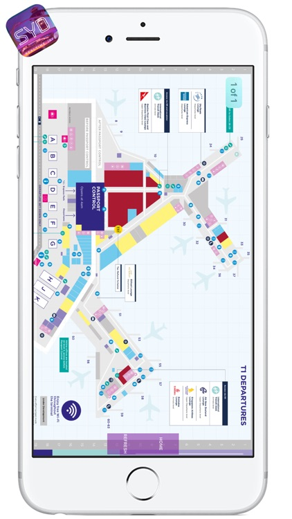 SYD AIRPORT - Realtime Info, Map, More - SYDNEY AIRPORT screenshot-3