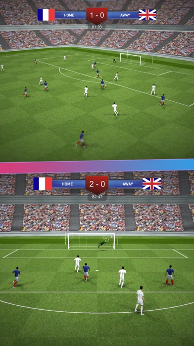 Soccer Game - Pro League Football Tournament screenshot two