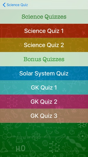 Best Free Science Quiz on the App Store
