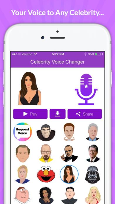 Celebrity Voice Changer - Funny Voice FX Cartoon Soundboard